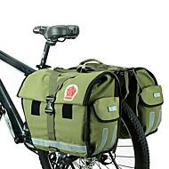 ROSWHEEL® Kerékpáros táska 50LTúratáska csomagtartóra/Kétoldalas túratáska Vízálló / Viselhető / Derékpánt Kerékpáros táskaNejlon /