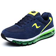 Men's Spring / Fall Comfort / Round Toe Suede Outdoor / Casual Flat Heel Black / Blue / Green / Multi-color / Orange Running