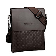 Men PU Casual / Outdoor / Office & Career / Shopping Shoulder Bag Brown / Black