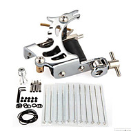 New Pro Complete Tattoo Kit 1 Machine  Supply Handle Needle Set Equipment
