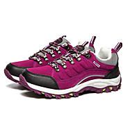 Women's Spring Comfort Fleece Athletic Flat Heel Purple Fuchsia Hiking
