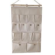 Sacos de Armazenamento Não Tecidos comCaracterística é Aberto / Desenho Animado , Para Jóias / Tecido / Shopping