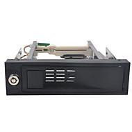 unestech st3512 plast / rustfritt stål SATA I / II / III 3,5 intern harddisk tilfelle støtte 2TB