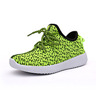 Boys' Shoes Outdoor / Athletic / Casual Canvas Flats Spring / Fall Round Toe Others Green