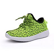 לבנים / לבנות-נעלי ספורט-קנבס-מעוגל-ירוק / ורוד / אדום / אפור / כחול ים-שטח / קז'ואל / ספורט