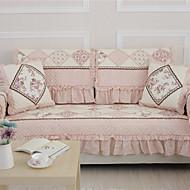 godt utformet flat slipcover rosa
