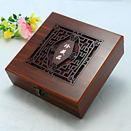 Jewelry Boxes Wood 1pc Brown