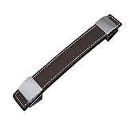 couro superfície punho marrom (orifício distância 160 milímetros)