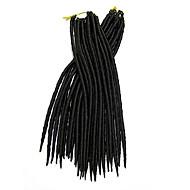 Crochê Dreadlocks Extensões de cabelo 12-22 Kanikalon 12 costa 85-120 grama Tranças de cabelo