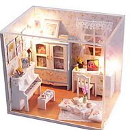DIY Hütte kreative Haus Geschenk für Valentinstag Geschenk Montage Gebäudemodell