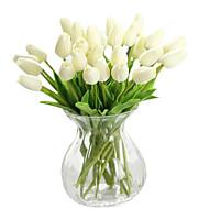 Silk / PU Tulips Artificial Flowers
