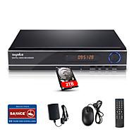 SANNCE® 8CH 1080N DVR Multi-mode input  eCloud HDMI 1080P/VGA/BNC CCTV System DVR with 2TB HDD