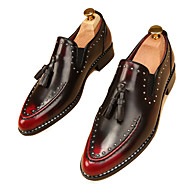 Men's Oxfords Casual/Party/Office & Career/Drive Fashion Casual PU Leather Rivet Shoes EU38-EU43