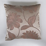 Polyester Housse de coussin,Fleur Traditionnel