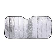 sølv folie sol isolasjon anti-uv bil parasoll 70 * 140cm sø isolasjon anti-uv bil parasoll 70 * 140cm