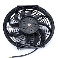"""dc 24v 7a 12 """""""" 10 lâminas de ar automóvel carro condicionado refrigeração ventilador preto"""