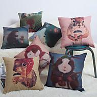 Baolisi Set of 7 Cartoon Decorative Pillow /Children of the World