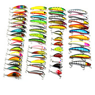 53pcs  Fishing Bait Set Minow Fishing Lures