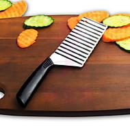 1 stk Cutter & Slicer For For Vegetable Rustfrit stål Høj kvalitet / Creative Kitchen Gadget / Originale