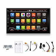 4 Cores 2 Din 7'' Android 4.4 Car DVD Player GPS Navi Car Stereo Radio in Dash 3G Wifi BT USB/SD Universal Player