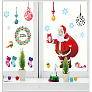 Christmas Window Sticker Contemporary , Art Deco 110*220CM