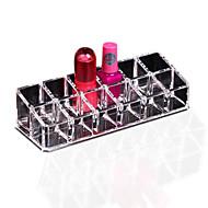 1pcs duidelijke 12 display standaard houder make-up lipstick cosmetische opbergdoos
