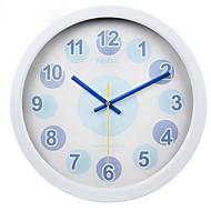 (Farge tilfeldig) 10 tommers veggklokke personlighet stil soverom mute klokke stue med moderne og innleide
