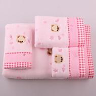 ראש-הדוב הרומנטיקה אקארד עם מגבת אמבט מים עבה ורכים