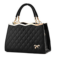 M.Plus® Women's Fashion Plaid PU Leather Messenger Shoulder Bag/Tote