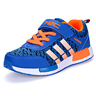 Jungen-Sneaker-Outddor-Tüll-Flacher Absatz-Komfort-Schwarz Blau