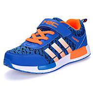 Za dječake Sneakers Proljeće Jesen Udobne cipele Til Aktivnosti u prirodi Ravna potpetica Mat selotejp Crna Plava