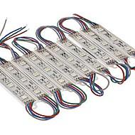 IP65 12W 60x5050smd 960lm ירוק / כחול / צהוב / אדום / לבן מגניב / לבן חם / RGB LED מודולים אור (12V DC)