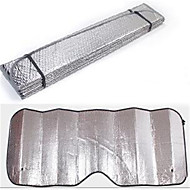 140 * 70 bil solcreme, solcreme, dobbelt sølvpapir, sølvpapir, boble solcreme
