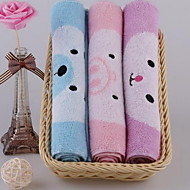 Yarn-dyed Jacquard Lovely Smiling Face Child-towel Face Towel