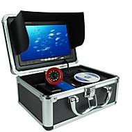 Localizadores de Peixe Impermeável LED Pesca de Mar Pesca no Gelo Pesca de Isco e Barco Portátil LCD Nenhum Sem Fios 18650 Plástico Duro