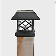 Weiß Solarpfostenkappe Licht Deck Zaun im Freien Gartenzaun-Lampe montieren