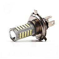 2ks h4 / H11 63smd 2835 žárovka lampa světlomet / světlo do mlhy bílé, červené, modré glary DC12V