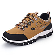 Men's Sneakers Spring / Fall Comfort PU Casual Flat HeelBlack / Brown / Green Hiking