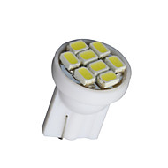 10 X White T10 8-SMD 3020 LED Wedge Side Light bulb Lamp W5W 194 168 501 12V
