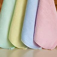 bambusové vlákno prostý zahušťování square kapesník ručník