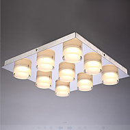 Led Contemporary and Contracted Bedroom lamp Square Study light