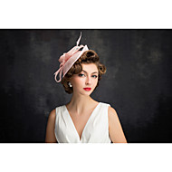 Women's Flax / Net Headpiece-Special Occasion Fascinators 1 Piece Clear Irregular 25