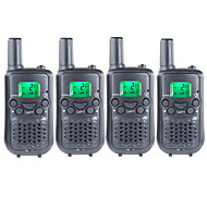 4 Packs FRS/GMRS Handheld Two Way Radios for Kids Children Walkie Talkie  With Hands Free 38CTCSS Up to 6KM