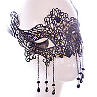 Lace Mask 1pc Holiday Dekorationer Party Masker Sej / Mode En Størrelse Sort Blonder