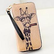 Damen Brieftasche PU Gewerbliche Verwendungen Khaki