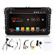 4 코어 8 ''자동차 DVD 플레이어가 내장 된 폭스 바겐에 대한 3G / 와이파이 swcfull 기능 대시 네비게이션 BT 라디오 GPS를