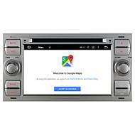 ניווט GPS 5.1.1 המכונית אנדרואיד עבור הקישור במראה wifi פורד C-Max / S-MAX / תחבורה ציבורית 2005 ~ 2007 עם Bluetooth רדיו DVD