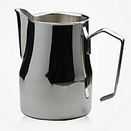 rustfritt stål lang fakturert latte cup fancy kaffe melkeskum kopp (350 ml)