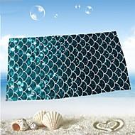 מגבת חוףהדפסה תגובתית איכות גבוהה 100% סיב מיקרו מַגֶבֶת