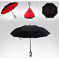 Piros / Zöld / Kék / Sárga Összecsukható esernyő Sunny és Rainy textil Utazás / Nő / Férfi